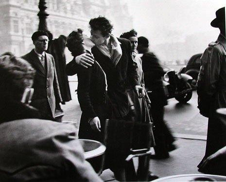 El beso del Hotel de Ville