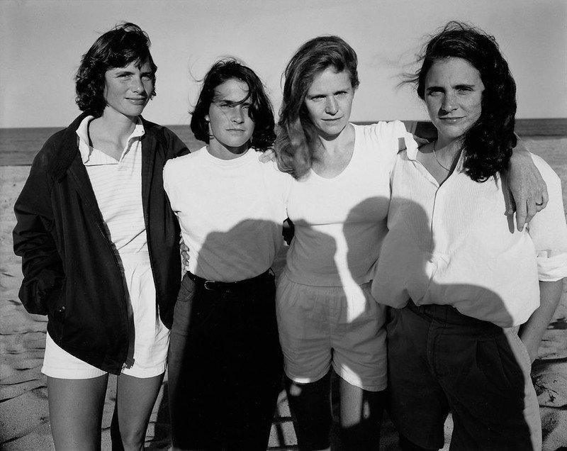 Desde la foto a la obra de arte-Las hermanas Brown 1981