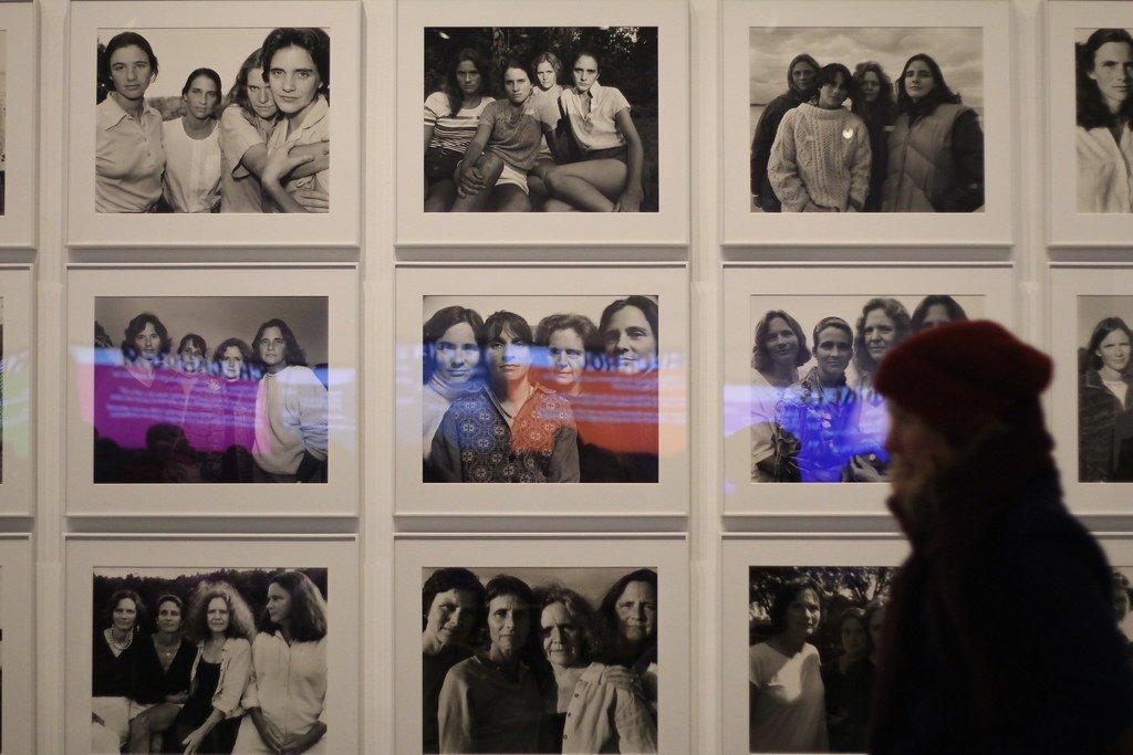 Exposición de la coleccion de fotos N Nixon